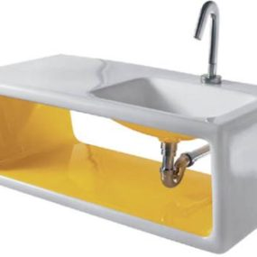 Ceramica Althea Outline sink – the 60's comeback