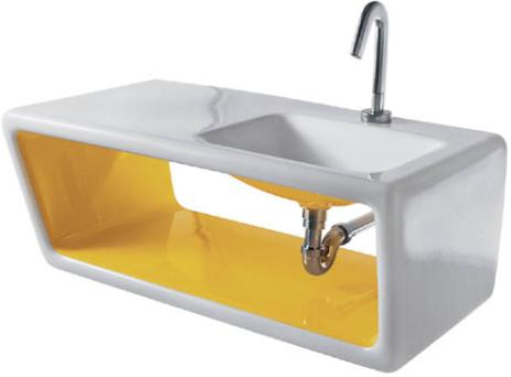 ceramica althea outline Ceramica Althea Outline sink   the 60s comeback