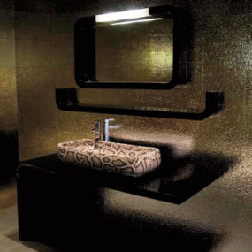 Snake Skin & Crocodile Skin bathroom decor from Ceramica Cielo – all new Jungle bathroom fixtures collection