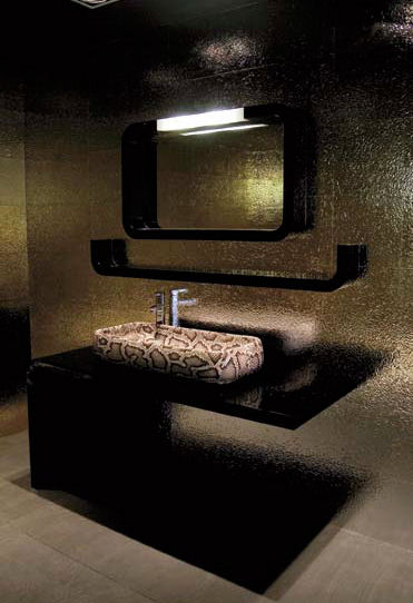 Snake Skin U0026 Crocodile Skin Bathroom Decor From Ceramica Cielo U2013 All New Jungle  Bathroom Fixtures Collection