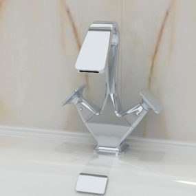One Hole Bathroom Faucets from Ceramica Cielo – the Opera faucet collection has unique charm