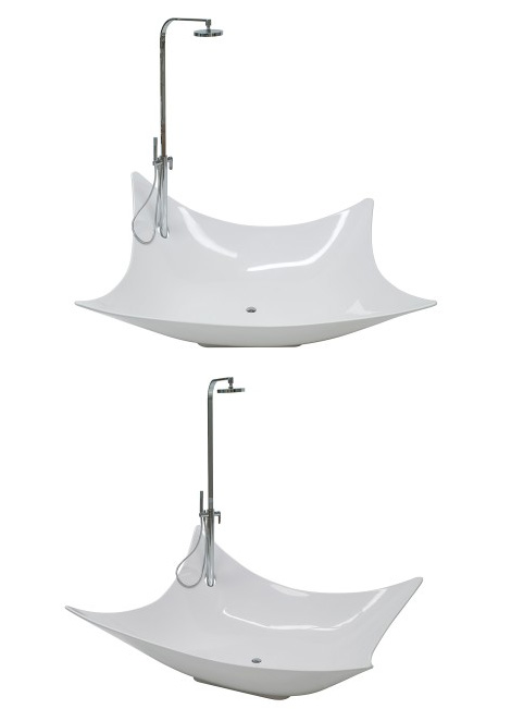 ceramica flaminia leggera bathtubs A New Dimension in Bathing:  Ceramica Flaminia's new Leggera Bathtub
