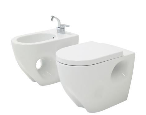 ceramica flaminia void bidet toilet Ceramica Flaminia new Void Washbasin and Bidet designed by Fabio Novembre
