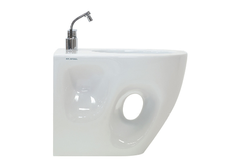 Ceramica Flaminia Void porcelain bidet in White