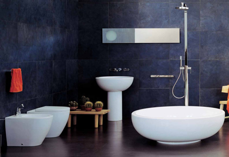 ceramicaflaminia bathroom fonte 1 Bathroom design by Ceramica Flaminia   new Fontana & Fonte bathroom designs