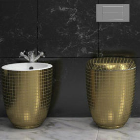 Decorative Toilets and Bidets by Stile – Mosaiko