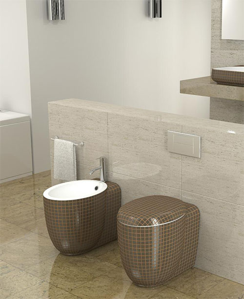 Charming Ceramicastile Mosaiko Bath 2