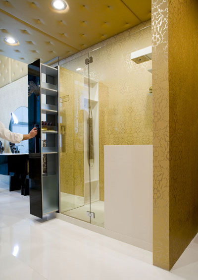 cerasa shower enclosure open The Sport Utility Box – from the New Cerasa Shower Enclosure 2008 collection