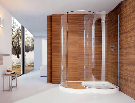 Walk In Shower By Cesana Eclisse Curved Shower