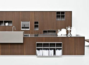 Earthy Kitchens by Cesar