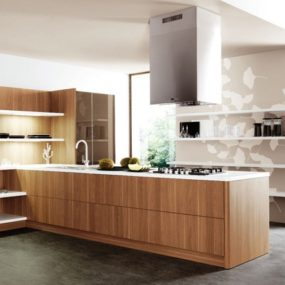 Kitchen Design Trends from Cesar – open shelves everywhere