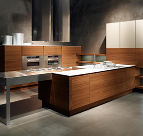 Minimalist Kitchen from Cesar – new Yara Kitchen lets wood take center stage