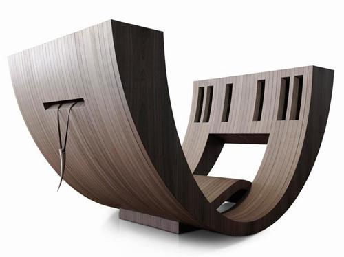 chair kosha claudio damore 2 Reading Space Design  Kosha by Claudio Damore