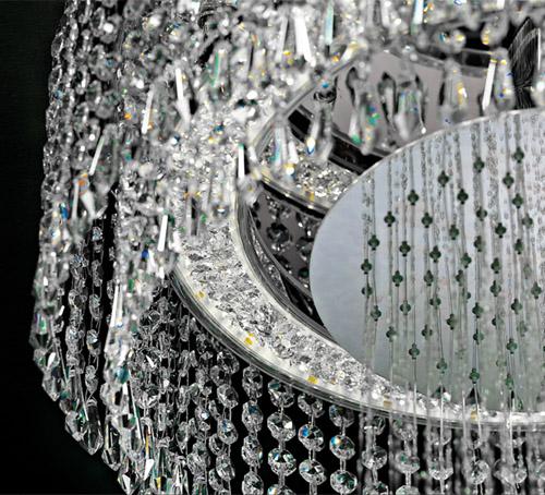 chandelier shower bisazza bagno 2 Chandelier Shower by Bisazza Bagno