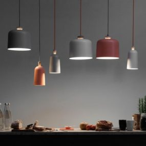 Charming Porcelain Pendant Lamp Fuse by Note