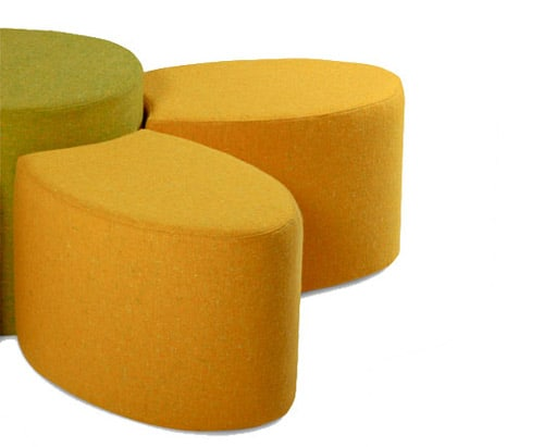 children modular seating ottomans fiore arconas 2 Children Modular Seating   Ottomans Fiore by Arconas