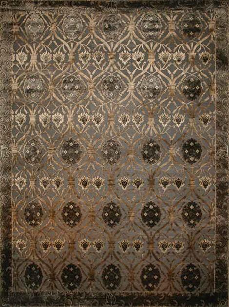 chinese silk / tibetan wool rugs - luxury rugs by new moon
