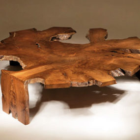 Rustic Modern Coffee Table by Chista
