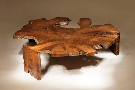 chista godzilla coffee table Rustic Modern Coffee Table by Chista