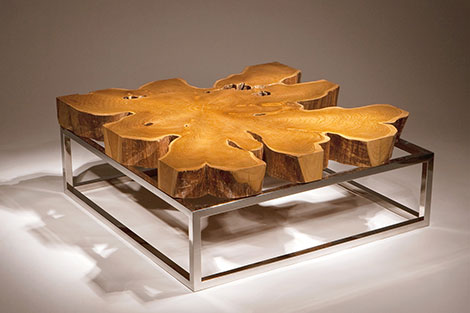 Groovy Rustic Modern Coffee Table By Chista Lamtechconsult Wood Chair Design Ideas Lamtechconsultcom