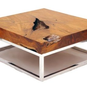 Natural Wood Coffee Tables – rustic table collection from Chista