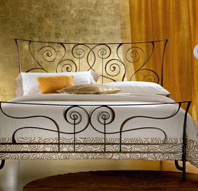 Wrought Iron Bed from Ciacci – the Brigitte bed