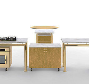 Modular Kitchen from Opinion Ciatti – new Axis