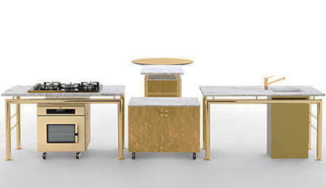 ciatti kitchen axis 4 Modular Kitchen from Opinion Ciatti   new Axis