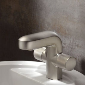 Contemporary bathroom faucet Cobra from Cifial – a unique soft touch finish
