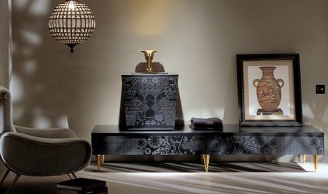 Luxury bath vanities by cima french boudoir with no boundaries