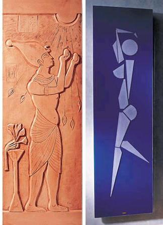 cinier egyptian%20female radiator Home Radiators by Atelier Cinier   contemporary designer radiators