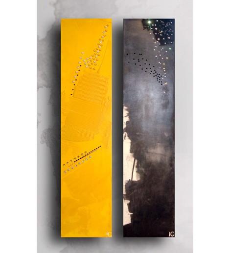 cinier swarovski crystal radiator Swarovski Crystal Radiators from Cinier   Black Diamond and Cristal Yellow