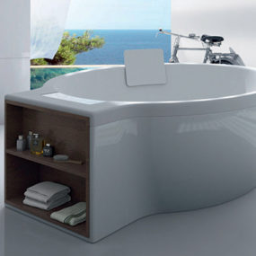 Circular Tub by Roca