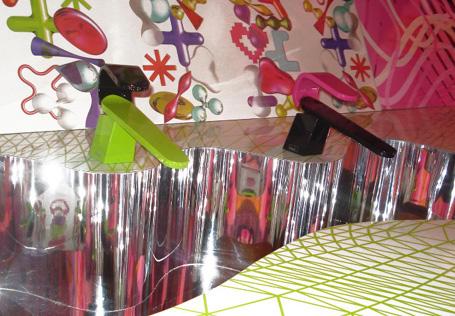Karim Rashid Kawa color faucets