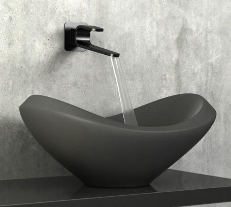 cisal faucet kawa 4 Karim Rashid Bathroom Faucets from Cisal   Kawa collection