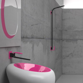 Karim Rashid Bathroom Faucets from Cisal – Kawa collection