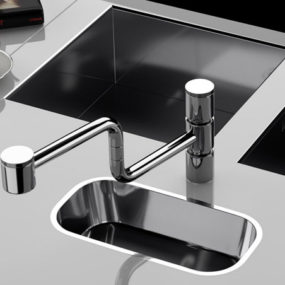 Kitchen Faucet from Cisal – the Poker faucet