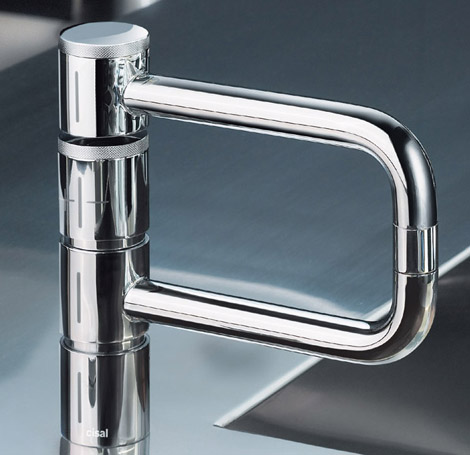 Kitchen Faucet from Cisal - the Poker faucet