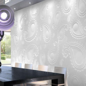 Paisley Tile Pattern in 3D by Citco
