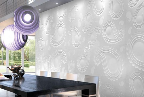 citco tiles paisley 1 Paisley Tile Pattern in 3D by Citco