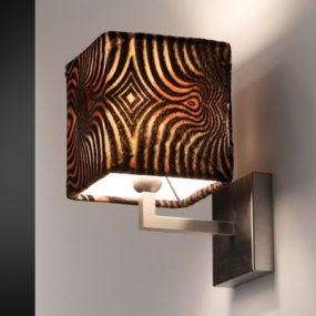 Animal Print Lamps from Citylux – Animalier lamp shades