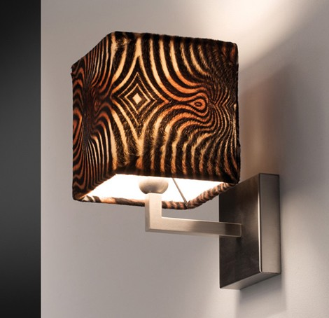 citylux lamp animalier 1 Animal Print Lamps from Citylux   Animalier lamp shades