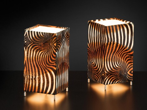 citylux lamp animalier 3 Animal Print Lamps from Citylux   Animalier lamp shades