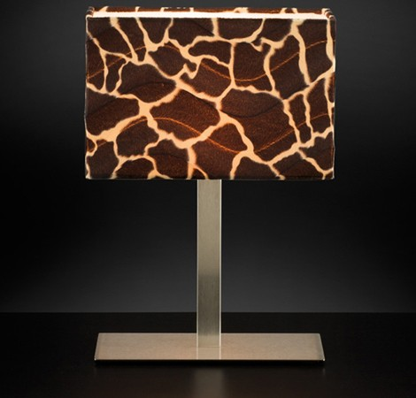 Animal Print Lamps From Citylux Animalier Lamp Shades