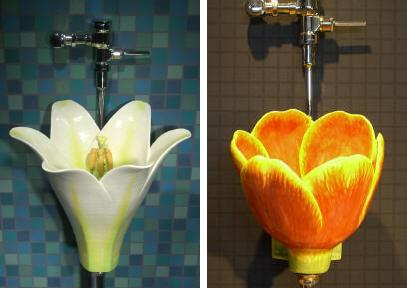clark sorensen flower urinal Flower Urinal   the newest designs by Clark Sorensen