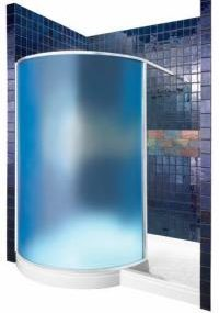 Iridess Translucent Shower Unit by Clarke – the poetic enclosure