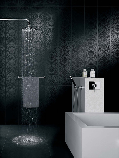 classic contemporary tile iris 2 Classic Contemporary Wall Tiles by Iris Ceramica – Neobarocco