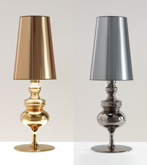 Classically Elegant Modern Lamps – Josephine Lamps by Metalarte