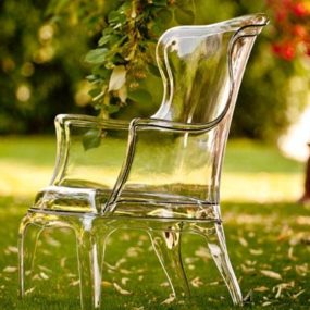 Clear Plastic Armchair by Pedrali – Pasha
