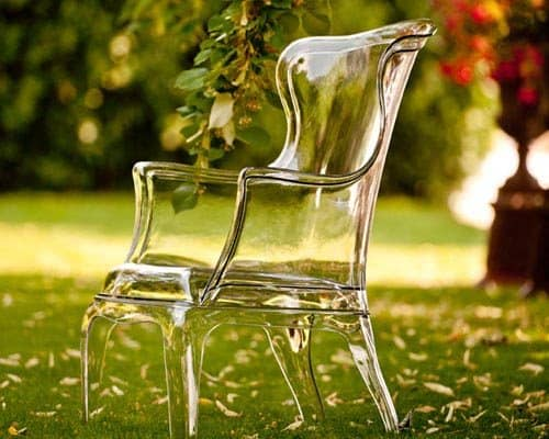 clear plastic armchair pedrali pasha 1 Clear Plastic Armchair by Pedrali   Pasha